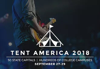 Awaken the Dawn: Tent America 2018