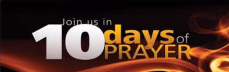 10 Days of Prayer